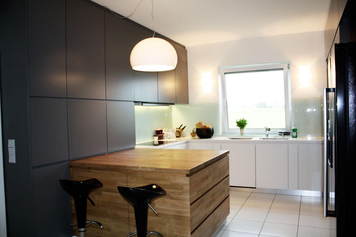 moderne Wohnküche Schreiner