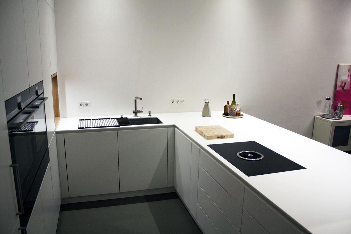 Moderne Küche Hochmann Holz-Concept