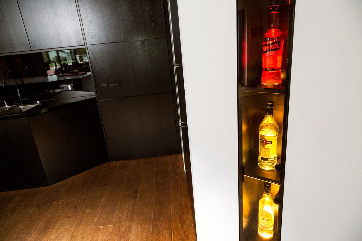 Wohnküche Detail Schreinerei