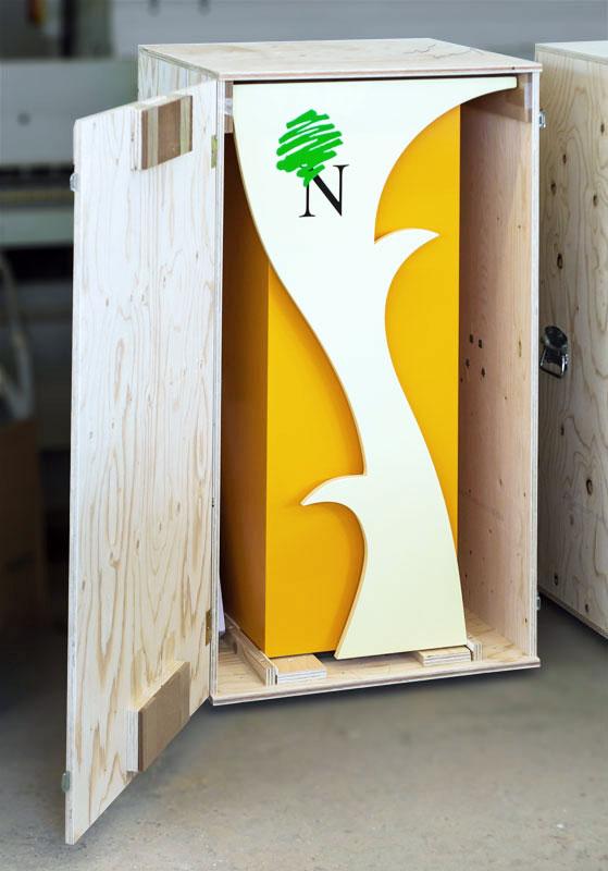 Messestand Hochmann Holz-Concept