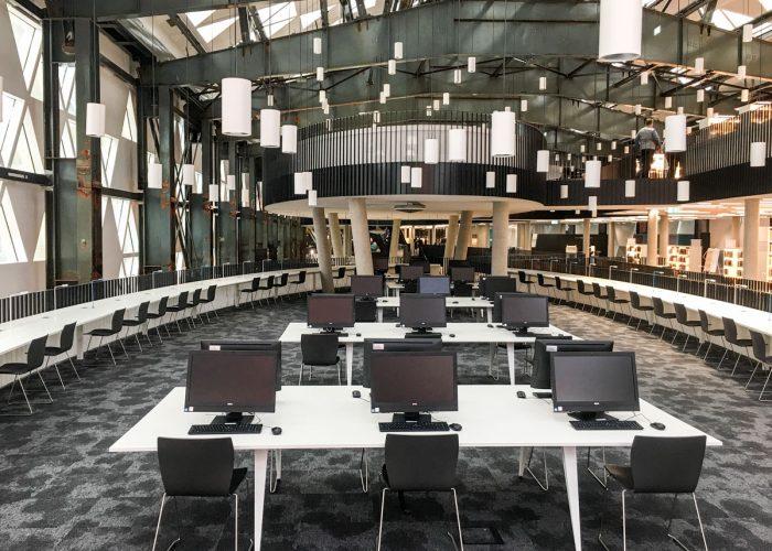 Innenausbau Luxembourg Learning Center