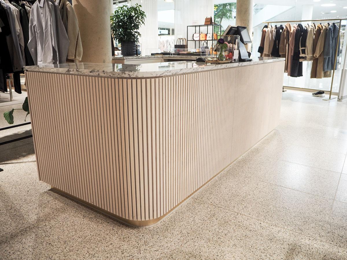 Ladenbau, Innenausbau Boutique